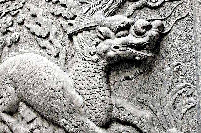 竜は皇帝の象徴であった。