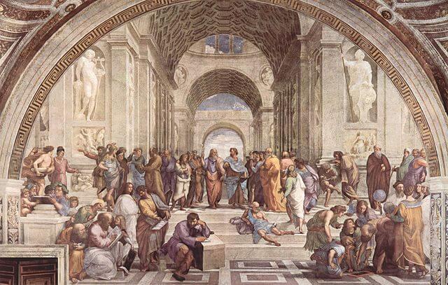 アテネの学堂に集まったギリシャチームのメンバー。