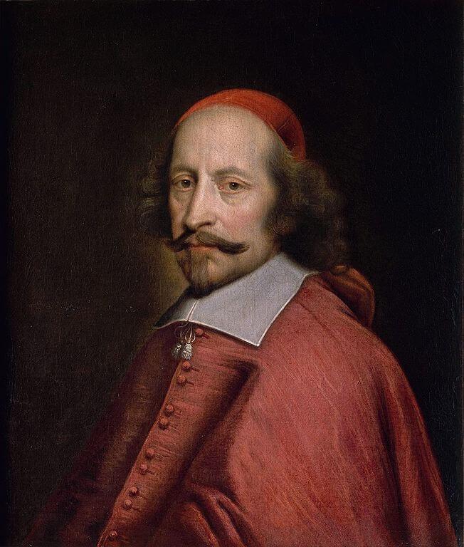 ピエール・ミニャールによるジュール・マザランの肖像画。
